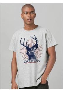 Camiseta Bandup Far Cry 5 Hope County - Masculino-Mescla