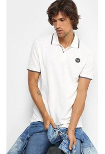 Camisa Polo Redley Piquet Básica Originals Masculina - Masculino
