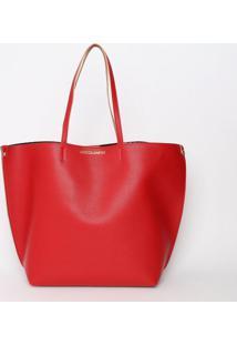 Bolsa Com Inscriã§Ã£O - Vermelha - 36X48X17Cmloucos E Santos