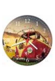 Relógio De Parede Kombi Vintage Retrô Carro Decorações Salas Quartos