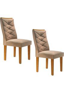 Conjunto Com 2 Cadeiras Riviera Ypê E Pena