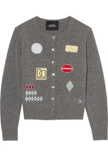 Marc Jacobs Cardigan The Embroidered - Cinza