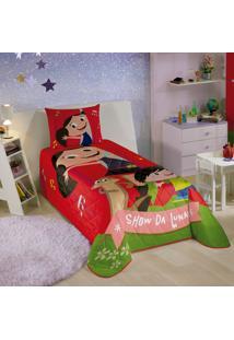 Colcha Infantil Matelassê Show Da Luna Lepper