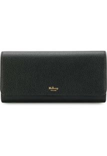 Mulberry Carteira Continental - Preto