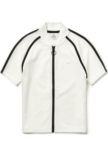 Polo Lacoste Live Slim Fit Branco
