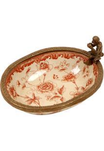 Saboneteira De Porcelana Decorativa Hanoi