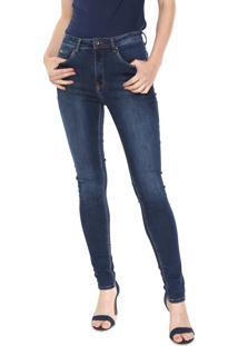 0e5c06dd3 ... Calça Jeans Calvin Klein Jeans Skinny Estonada Azul