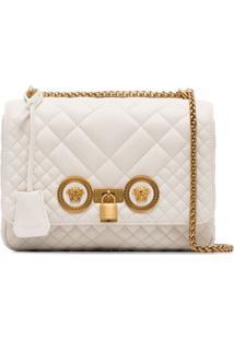 Versace Bolsa Tiracolo Icon - Branco
