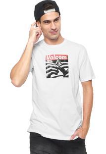 Camiseta Volcom Reload Branca