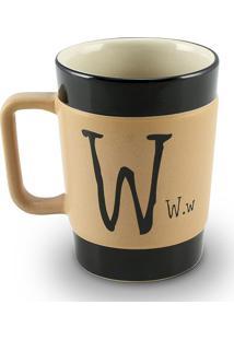 Caneca Coffe To Go- W 300Ml-Mondoceram - Pardo