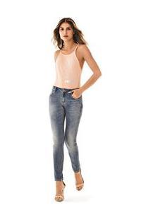 d588fb18be667b Calca Skinny Andreia Cos Intermediario Avios Rosa Jeans