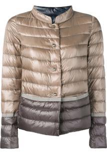 Herno Gradient Puffer Jacket - Neutro
