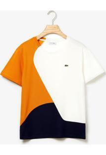 Camiseta Lacoste Live Azul Marinho - Kanui