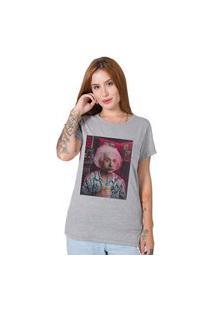 Camiseta Genius In Vegas Cinza Stoned