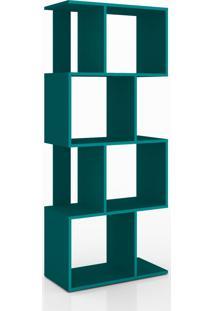 Estante Vertical Ou Horizontal About Home - Turquesa - Multistock