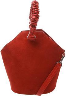 Bolsa Saco Nobuck- Vermelhaschutz