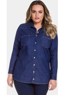 277849ae0 Camisa Jeans Lunender feminina | Shoelover