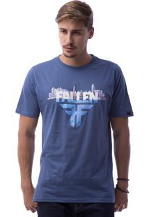 Camiseta Fallen Deepness Azul