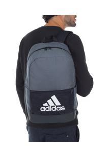 Mochila Adidas Classic Bos - Azul Esc/Branco