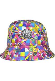 Chapéu Bucket Hats Black Bird Cl Feminino - Feminino