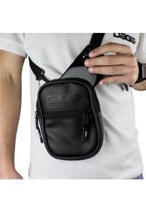 Shoulder Bag - Bolsa Transversal Dagg - Unissex-Preto