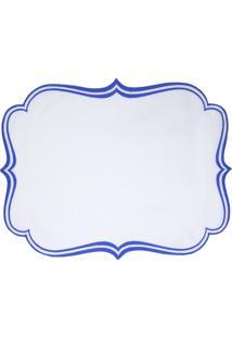 Jogo Americano Lola Home De Linho Valencia Azul