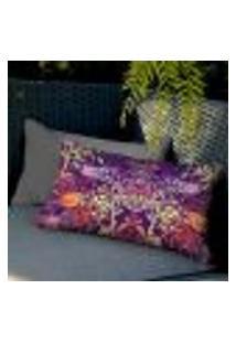 Capa De Almofada Haus For Fun Floral Mixed 04 20X38