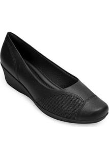 Sapato Anabela Piccadilly Feminino - Feminino