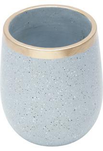 Vaso Decorativo De Cerâmica Craie P