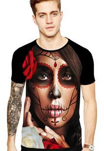 Camiseta Stompy Tattoo Rock Collection 197 Preto