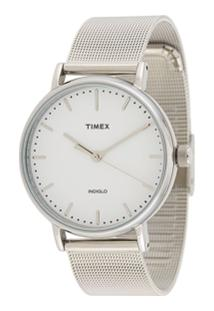 Timex Fairfield 37Mm Watch - Prateado