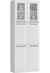 Paneleiro Duplo Itatiaia Luce Ipldv-70 Mx 6 Portas Branco