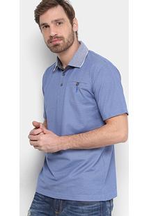 Camisa Polo Aleatory Mescla Masculina - Masculino