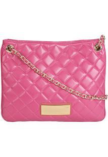 Bolsa Loucos & Santos Shopper Matelassê Feminina - Feminino-Pink