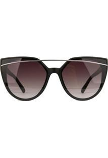 Óculos De Sol Atitude At5346 A03/60 Preto - Kanui