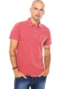 Camisa Polo Billabong Zenith Vermelha