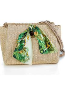 A Clutch Palha Natural Fauna
