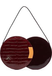 Manu Atelier Bolsa Tiracolo Com Fecho - Vermelho