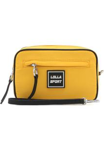 Necessaire Santa Lolla Logo Amarela