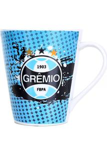 Caneca Grêmio De Porcelana Luva 290 Ml - Unissex