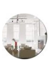 Espelho Decorativo Multiuso Redondo Pendurador Para Quarto Sala Banheiro