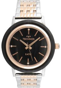 Relógio Technos 203Aad/5P Azu-Marinho/Rosa