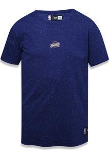 Camiseta New Era Basico Cleveland Cavaliers Marinho