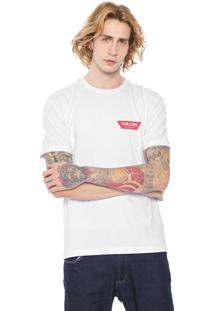 Camiseta Volcom Schooey Branca