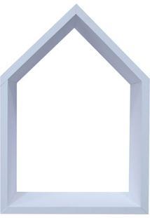 Nicho Home Sweet Home- Branco- 33X48X11Cm- Kaposkapos