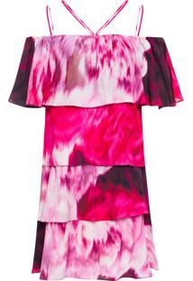 Vestido Luli Curto - Rosa