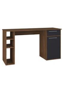 Mesa Escrivaninha Modern Office Estilare Est109 1 Gaveta 1 Porta