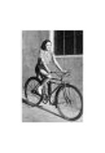 Painel Adesivo De Parede - Mulher Ciclista - 043Pn-P