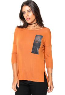 1f648f5b55 ... Blusa Lunender Tricot Every Day Caramelo  Cinza