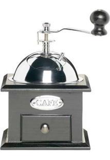 Moedor De Café Lexpress Deluxe 18,5X12 Cm Aço Inox E Madeira Preto Kitchen Craft